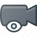movie, record, camera, cam, film, view icon