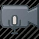 sound, movie, record, camera, cam, voice, film icon