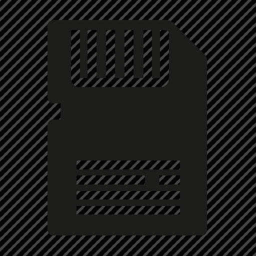 card, memory, storage icon