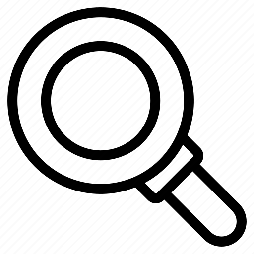 laboratory equipment, laboratory magnifier, laboratory tool, magnifying glass, research equipment icon