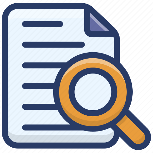 data analytics, file exploration, file monitoring, finding file, report monitoring icon