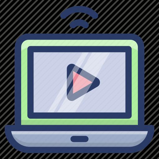 movie app, movie player, multimedia app, online video streaming, video folder, video player icon