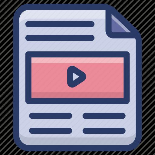 file format, mp3 file, music file, play video file, video file icon