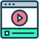 video, content, media, play, blog, website