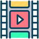 video, content, media play, film, strip, movie, cinema