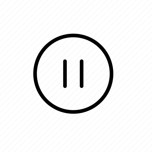 multimedia, pause, play, player, player controls, video, video controls icon