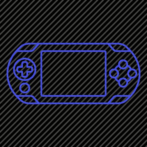2, blue, consoles, game, portable, ps, video, vita icon