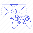 consoles, controller, game, video, xbox icon