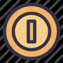 coin, computer, electronic, fun, game icon