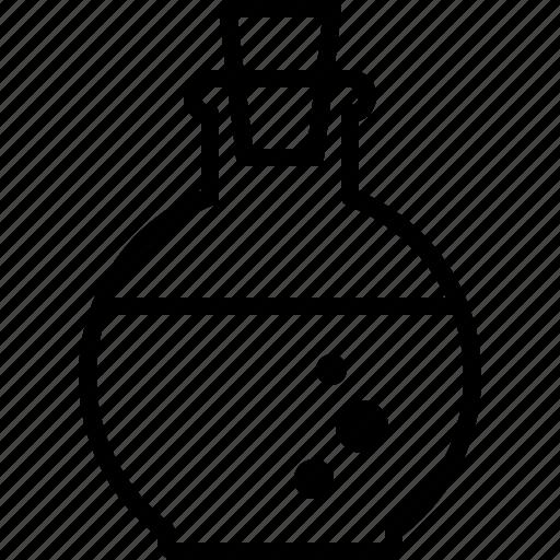 Bottle, chemical, elixir, health, magic, mana, potion icon - Download on Iconfinder