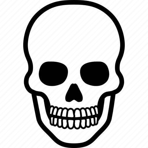 dead, death, game, head, human, over, skull icon