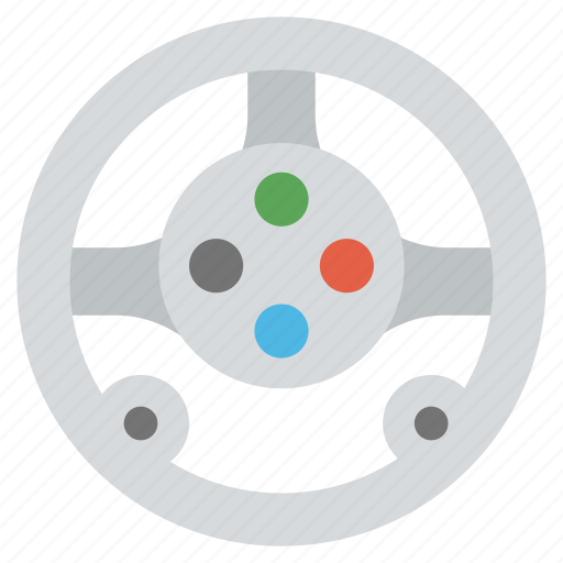 casino, game controller, steer gaming, video game, wheel game icon