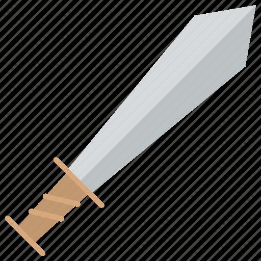 cleaver, combat knife, cutlass, knife, sword icon