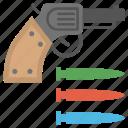 firing, firing squad, gun shooting, guning, shooting game, shooting sport icon