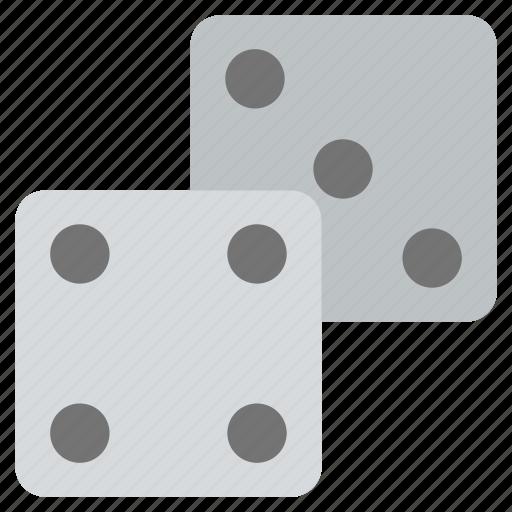 block, cubes, dice, gambling, gaming, ludo icon