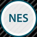 nes, nintendo, system icon