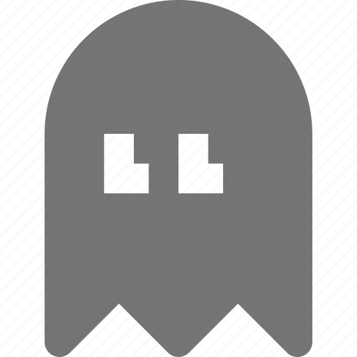 ghost, pacman, video games icon