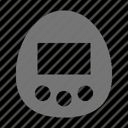 tamagochi, video games icon