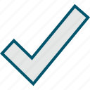 check, good, mark, ok, safe icon