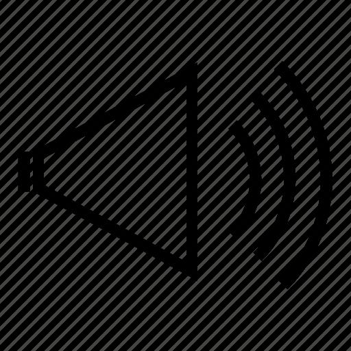 control, mute, player, settings, speaker, volume, volume button icon