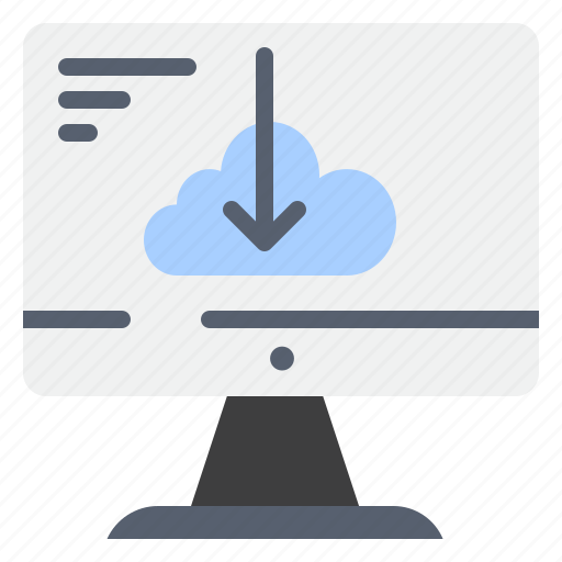 cloud, download, driver, install, installation icon