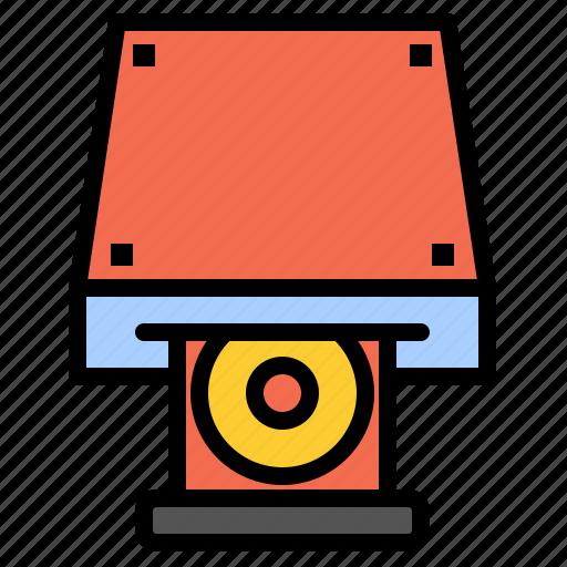 cd, data, disk, dvd, rom, storage icon