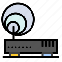 connection, hardware, internet, network icon
