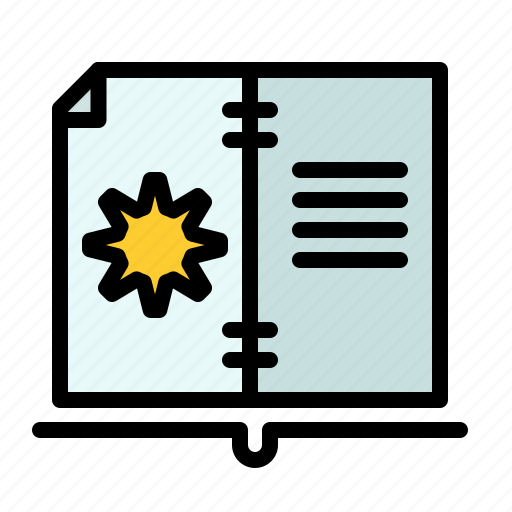 Book, guide, hardware, instruction icon - Download on Iconfinder