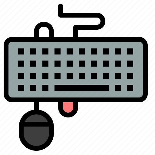device, interface, keyboard, mouse, obsolete icon