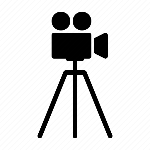 camera, cinema, film, hollywood, production, video icon