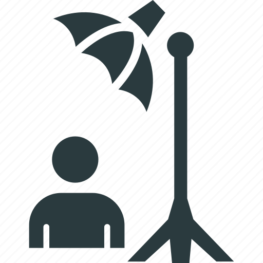 c stand, film production, light stand, photography equipment icon