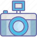 camera, flash camera, flash photography, photographer icon