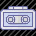 audio recording, audio tape, digital audio, digital recording icon
