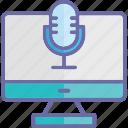audio recording, digital audio, digital recording, sound recording icon