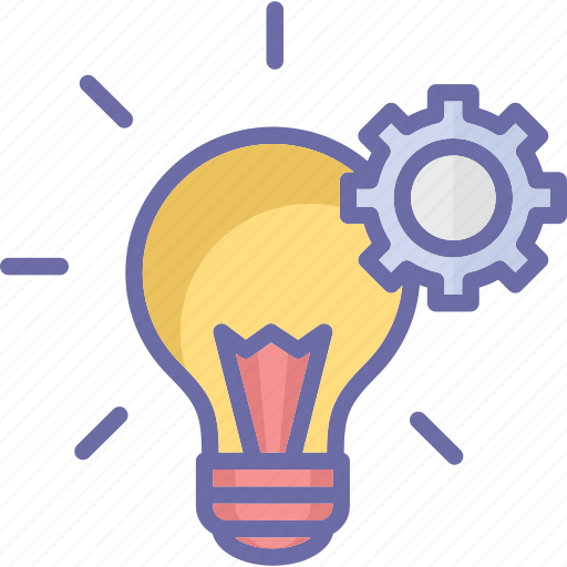 electricity, flash, incandescent lamp, light bulb icon
