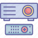 image projector, optical device, presentation, projector icon