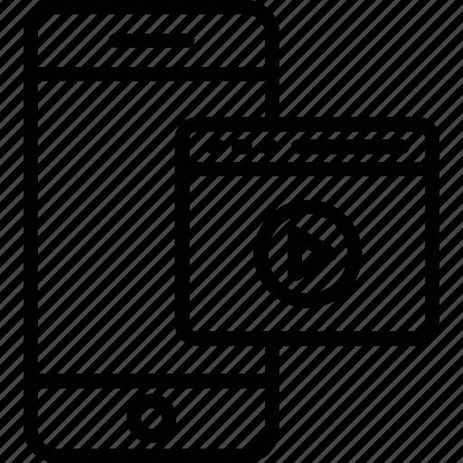 digital cinema, filmmaking, mobile video, post production icon