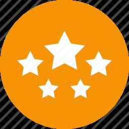 badges, night, star, votes icon