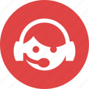 audio, earphones, headphones, headset, help, microphone, support icon