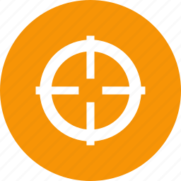aim, shooting, site, target, viewfinder icon