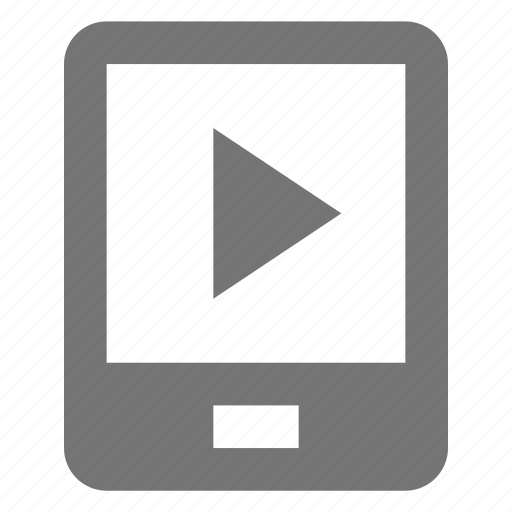 media, phone, play, smartphone, telephone icon
