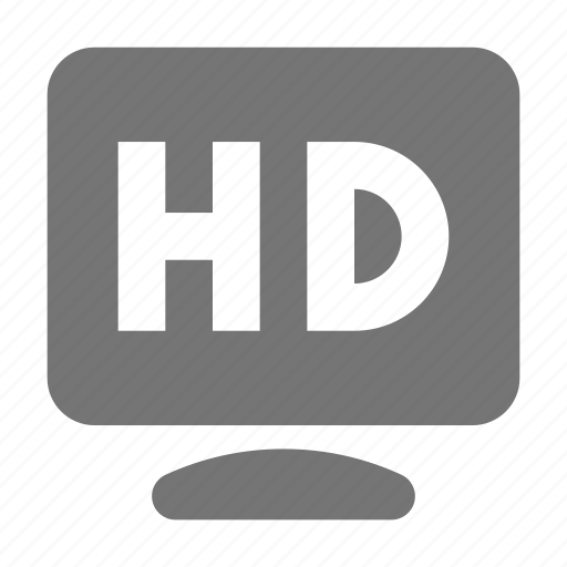 hd, hd resolution, resolution icon