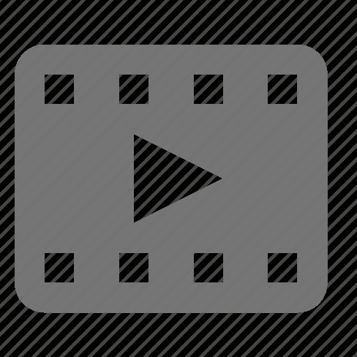 media, play icon