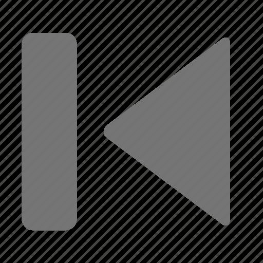 media, previous icon