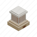 chi, ho, isometric, mausoleum, minh, travel, vietnam icon