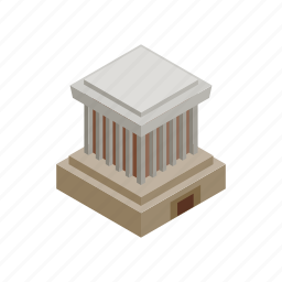chi, ho, isometric, mausoleum, minh, travel, vietnam icon