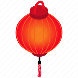celebration, decoration, isometric, lantern, new, traditional, vietnam icon