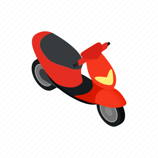 Asia, isometric, motorbike, motorcycle, scooter, transport, vietnam icon - Download on Iconfinder