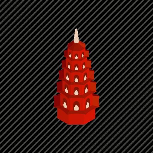 Asia, buddha, hanoi, isometric, pagoda, religion, vietnam icon - Download on Iconfinder