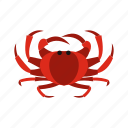 animal, claw, crab, ocean, sea, seafood, shellfish icon